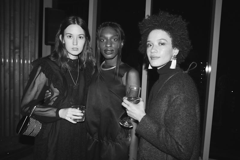 The scene from inside Purple Magazine's 25th Anniversary party at The Top of The Standard during New York Fashion Week.