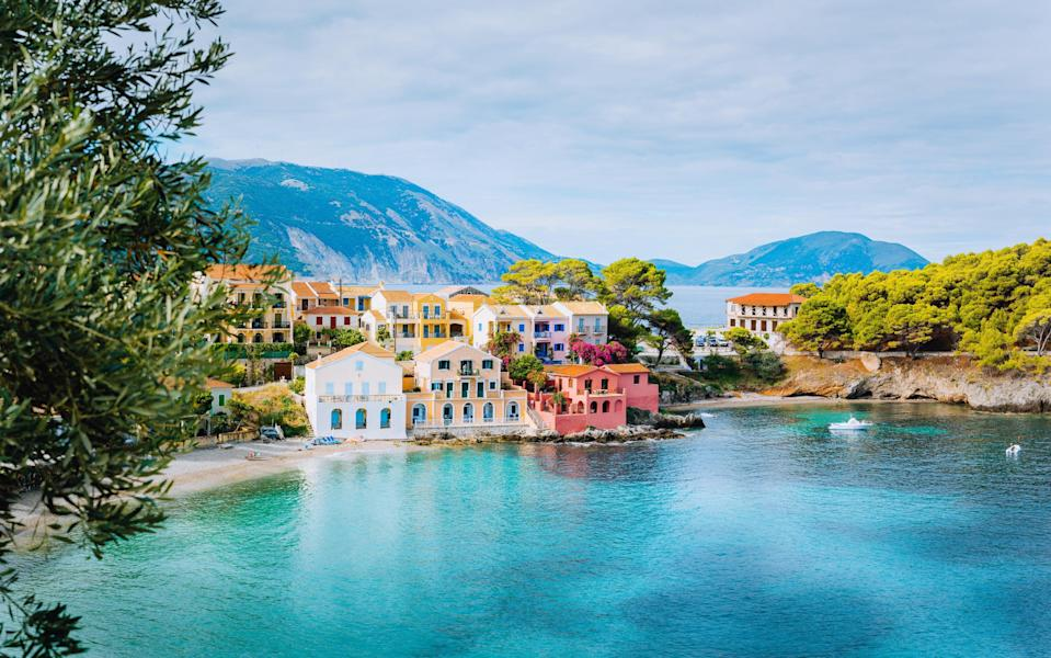 Kefalonia basks in sunshine, long into autumn - Getty