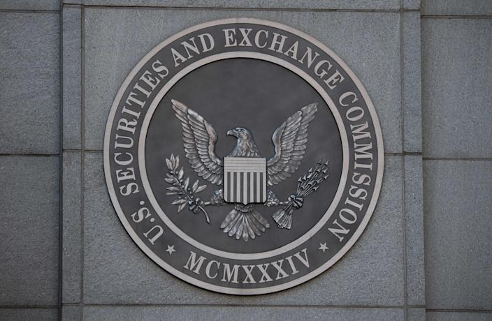 The headquarters of the U.S. Securities and Exchange Commission on Jan. 28, 2021, in Washington, D.C.