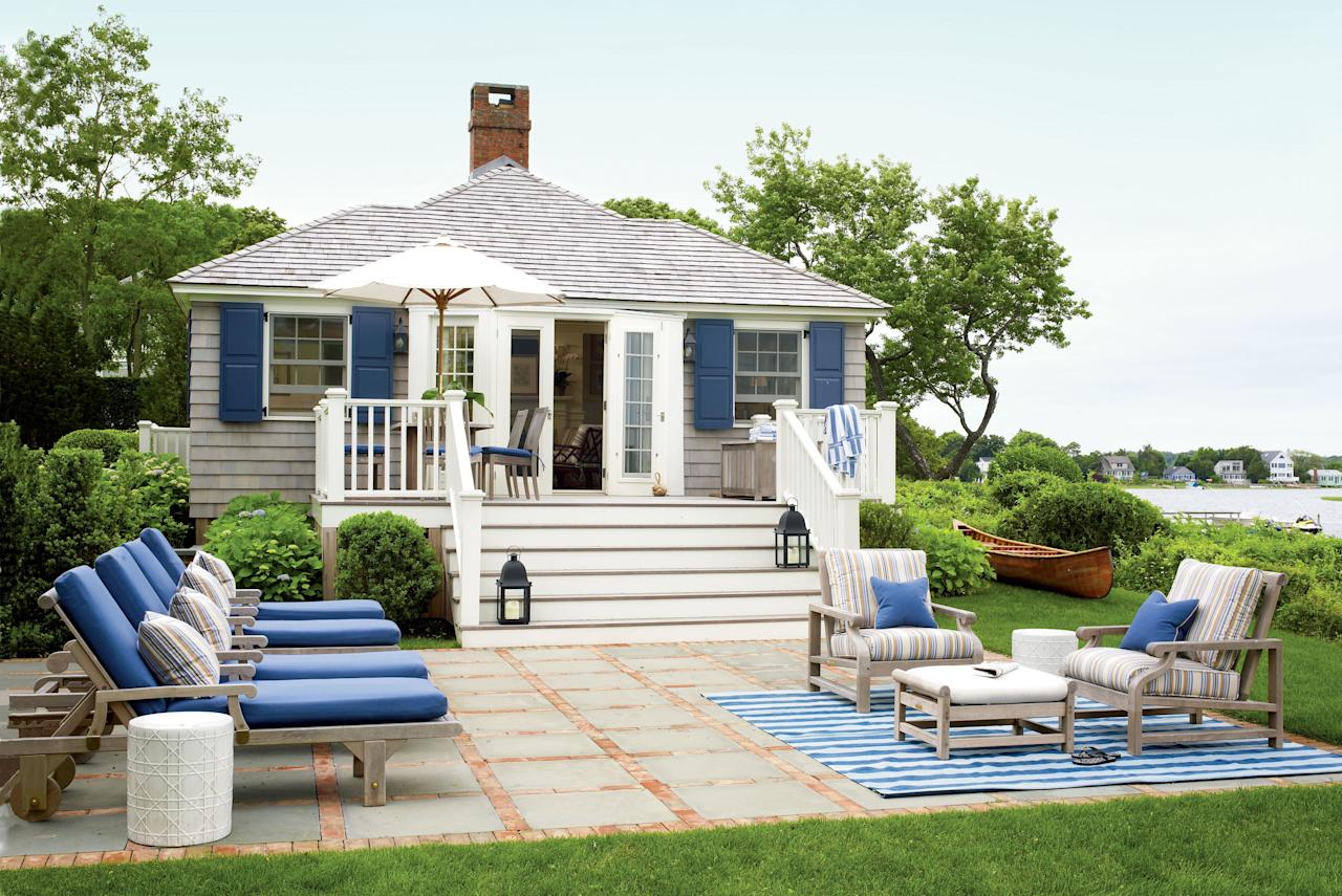 <p>The transformation created a grander and more defined patio—perfect for hosting a crowd!—with separate areas for sunning and lounging. Extra hardscape makes the space much more usable at all times of the day.</p>