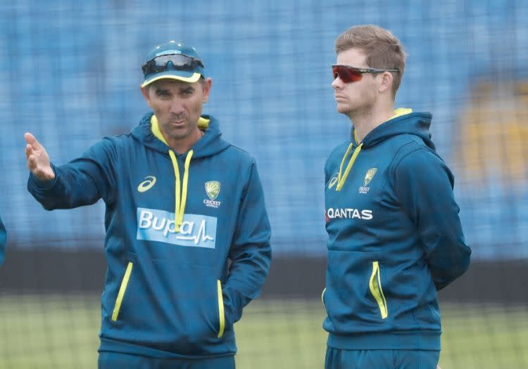 The Spotlight Has Been Deflected From The Players' Performance Straight Onto Justin Langer, States Mark Waugh