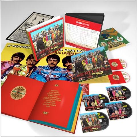 The Beatles will reissue 'Sgt. Pepper's Lonely Hearts Club Band' for its 50th anniversary, complete with numerous unreleased studio takes.