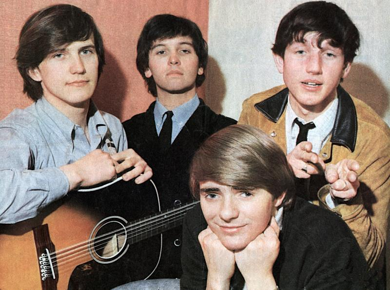 Wayne Fontana (far left) with his former band The Mindbenders in the 1960s (Photo: GAB Archive via Getty Images)