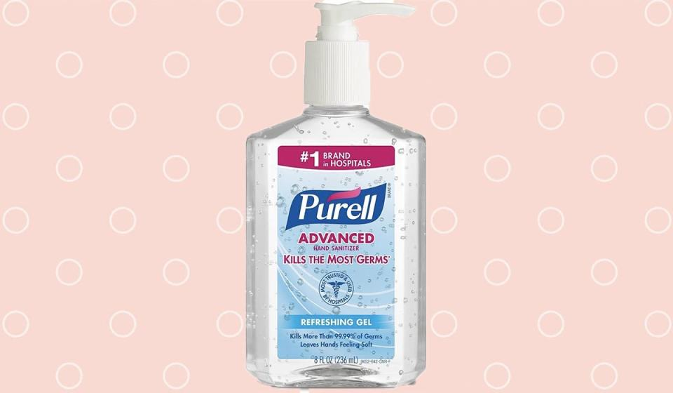Don't fall for any cheap — let alone expensive — imitations: Purell is still the first name in the hand-sanitizing game. (Photo: Amazon)