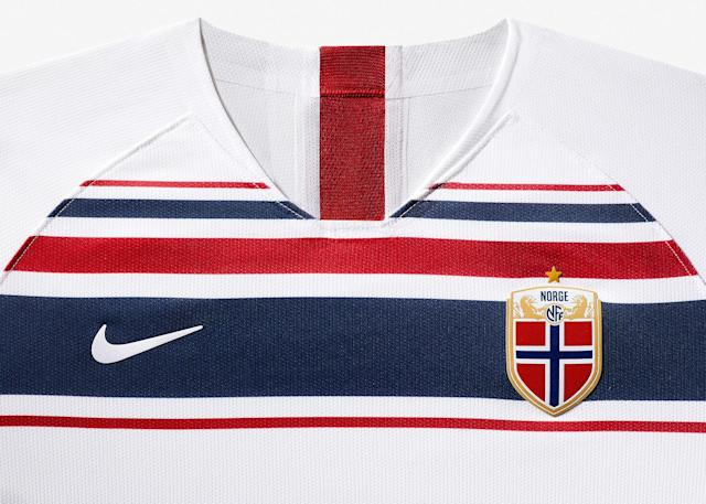 <p>The new away kit will be worn by Norway this summer. </p>