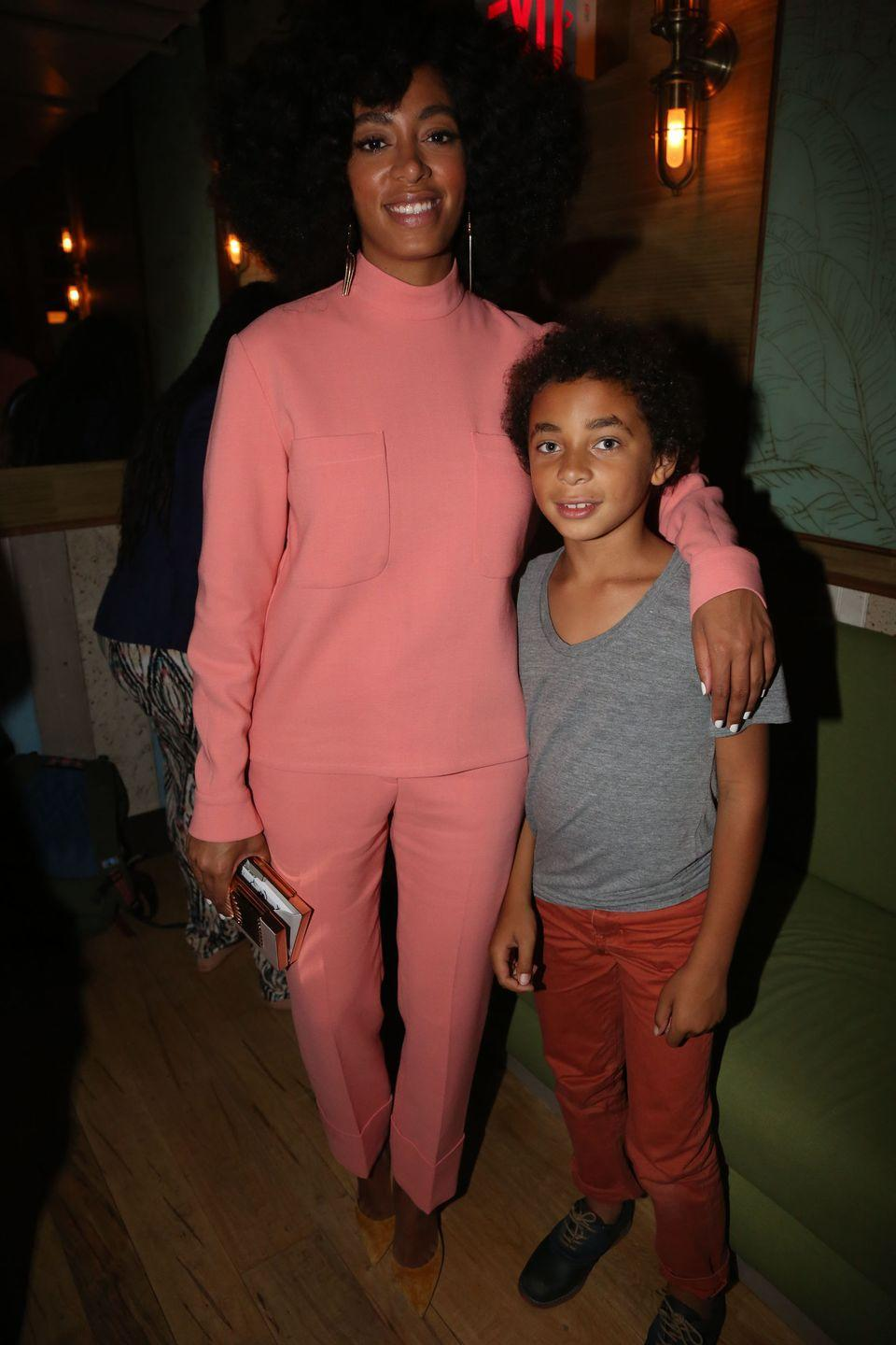 """<p>""""I think it's really important for <a href=""""https://www.vibe.com/2012/02/leading-lady-solange-covers-rollacoaster-magazine"""" rel=""""nofollow noopener"""" target=""""_blank"""" data-ylk=""""slk:every mother"""" class=""""link rapid-noclick-resp"""">every mother</a> to find their own way.""""</p>"""