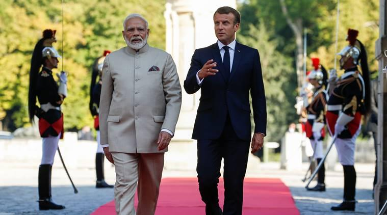 Modi and I have discussed Kashmir, will tell Imran to settle it bilaterally: French's Macron