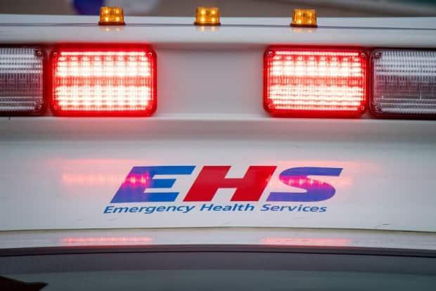 A man is in hospital with life-threatening injuries after a driver of a pickup truck struck him with the vehicle on Tuesday morning. (Robert Short/CBC - image credit)
