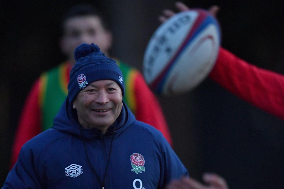 <p>Eddie Jones has offered his own ideas on how to improve international rugby union as a spectacle</p> (POOL/AFP via Getty Images)