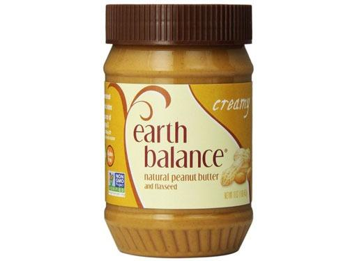 Earth Balance Peanut Butter With Flax Seed