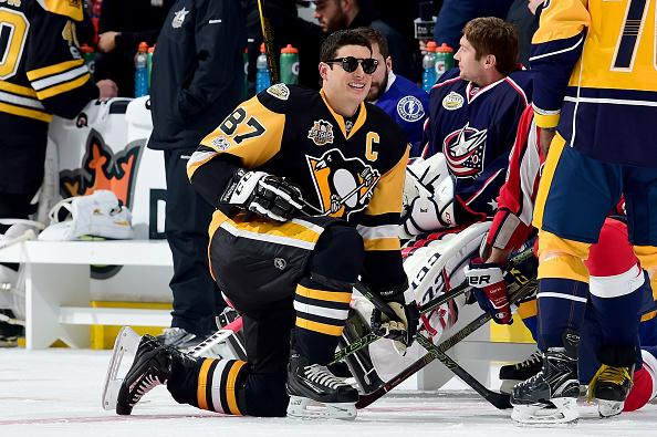Sidney Crosby entertains at NHL All-Star Skills Competition d31a4a065
