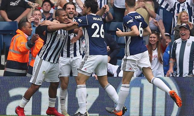 Salomón Rondón strikes late as West Brom stun Liverpool with fightback