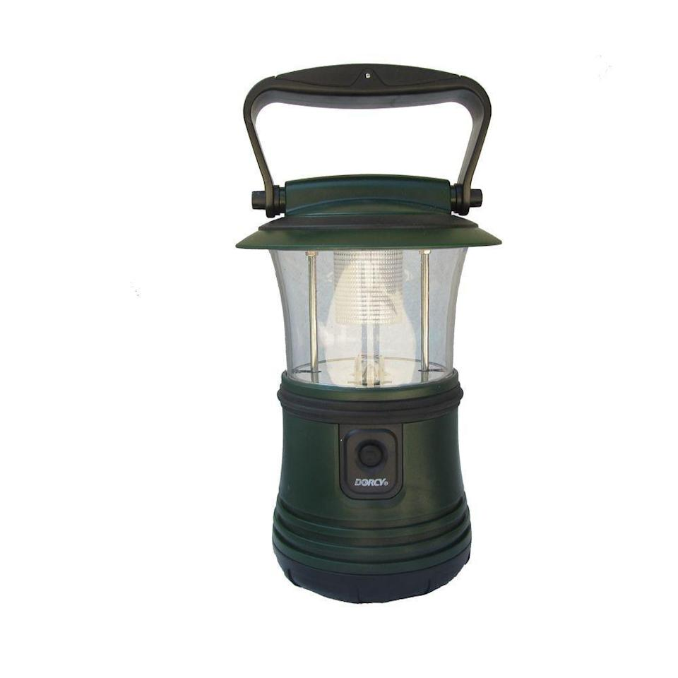 <p>Find the light with this <span>Dorcy 65 Lumens LED Camping Flashlight Lantern</span> ($13).</p>
