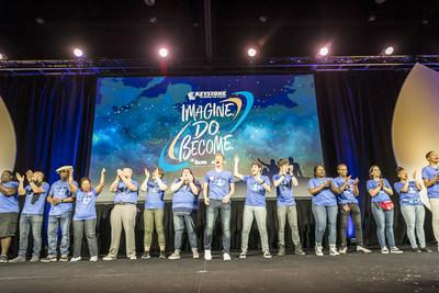 More than 1,500 teen leaders and advisers from Boys & Girls Clubs around the world met this month in Orlando for the 52nd National Keystone Conference presented by Aaron's, Inc. (Roberto Gonzalez/AP Images for BGCA).