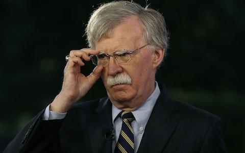 North Korea has taken aim at John Bolton, US national security adviser, for his remarks on denuclearisation - Credit: Getty Images/Getty Images