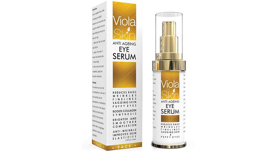 Viola Skin Premium Anti Ageing Eye Serum for Dark Circles & Puffiness