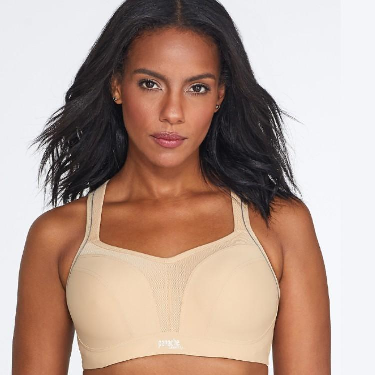 This underwire bra with cushy cups converts to racerback. (Photo: Bare Necessities)