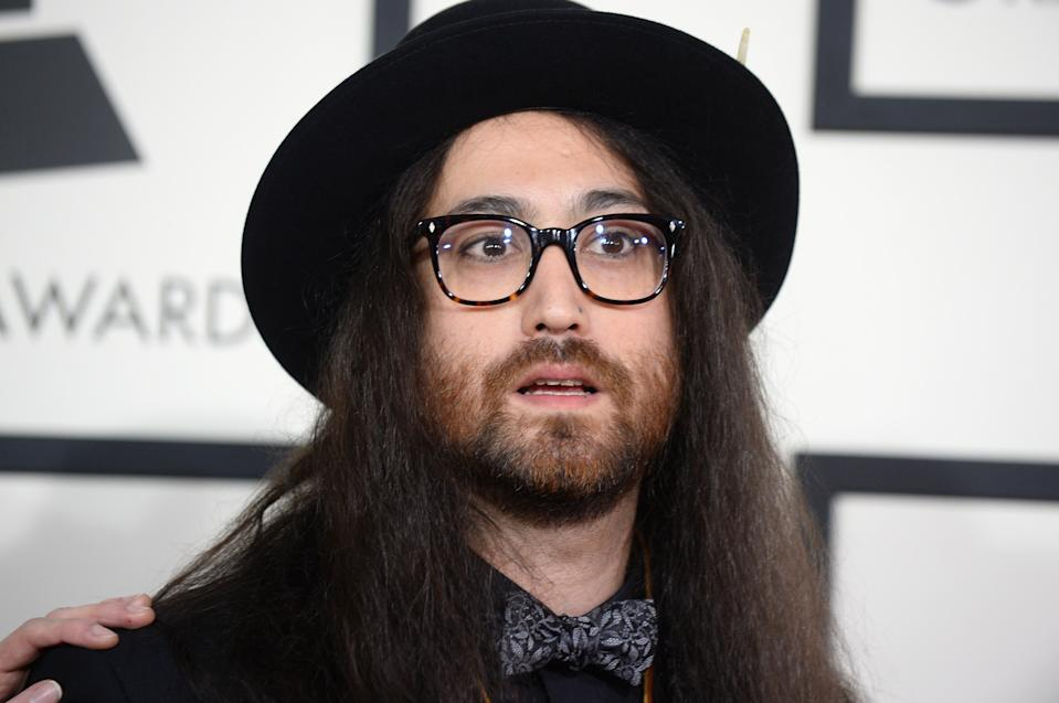 Sean Lennon arrives at the 56th annual GRAMMY Awards at Staples Center on Sunday, Jan. 26, 2014, in Los Angeles. (Photo by Jordan Strauss/Invision/AP)