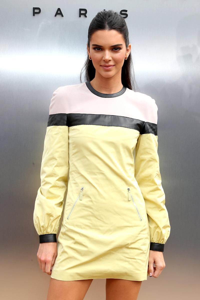 NEW YORK, NEW YORK - SEPTEMBER 07: Kendall Jenner attends the Longchamp SS20 Runway Show at Hearst Plaza, Lincoln Center on September 07, 2019 in New York City. (Photo by Cindy Ord/Getty Images for Longchamp)