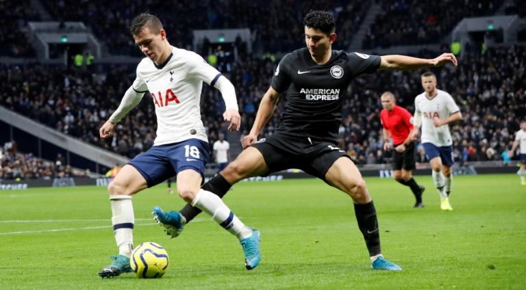 Giovani Lo Celso (L) was on target for Tottenham in their FA Cup win against Middlesbrough