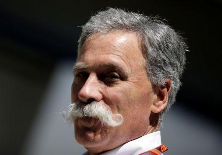 Formula One F1 - Brazilian Grand Prix 2017 - Sao Paulo, Brazil - November 12, 2017 CEO of the Formula One Group Chase Carey ahead of the Brazilian Grand Prix REUTERS/Ueslei Marcelino