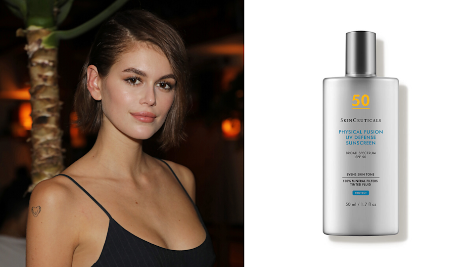 SkinCeuticals Physical Fusion UV Defense SPF 50. Images via Getty, Dermstore.