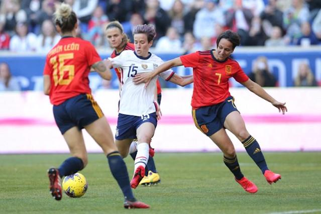 Soccer: She Believes Cup Women's Soccer-Spain at USA