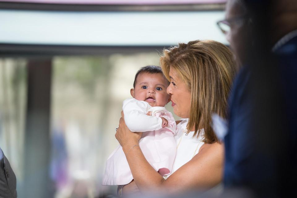 Hoda Kobt adopted her daughter, Haley Joy, when the girl was 1 year old. (Photo: Getty Images)