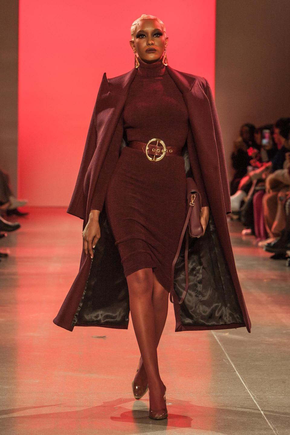 Michelle Obama's outfit Sergio Hudson