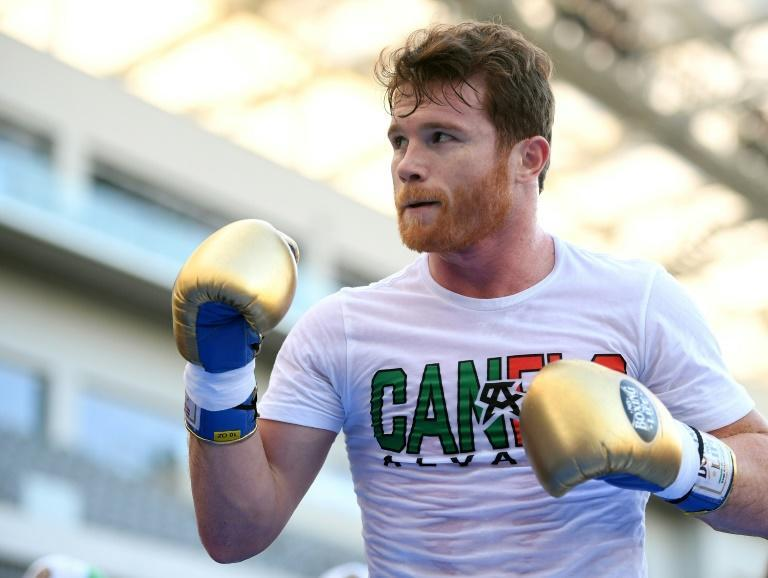 "Canelo Alvarez, pictured August 2018, says that Golovkin's doping allegations are ""the kicks and screams of someone who is drowning"""