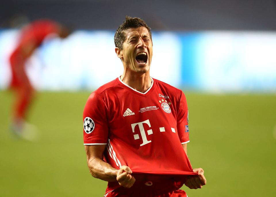 Robert Lewandowski says Bayern Munich knew it would hammer Barcelona in the Champions League. (Julian Finney/Getty Images)