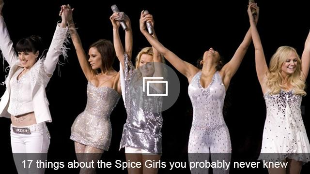 Spice Girls slideshow