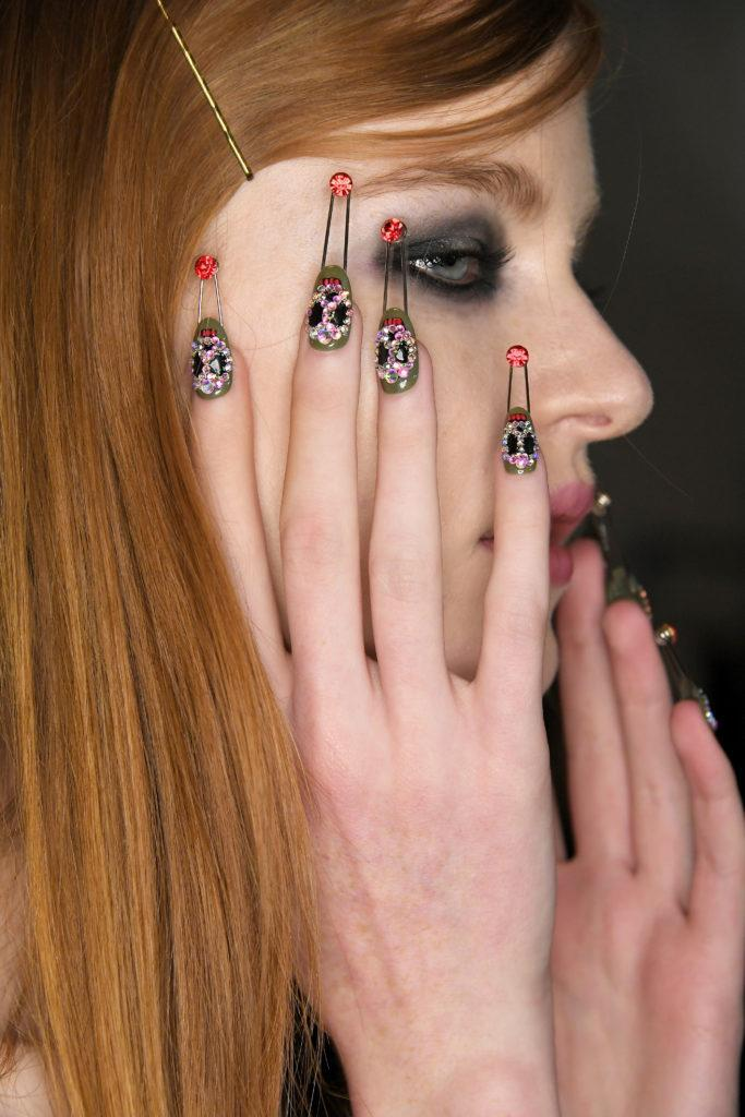 CND nails for Libertine