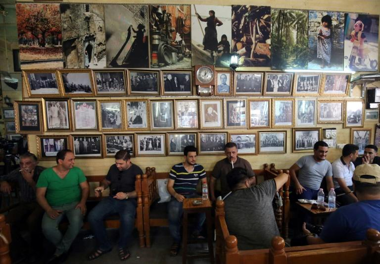 """Taking a seat in the Shabandar cafe is """"like taking a seat in a history book,"""" the owner says"""