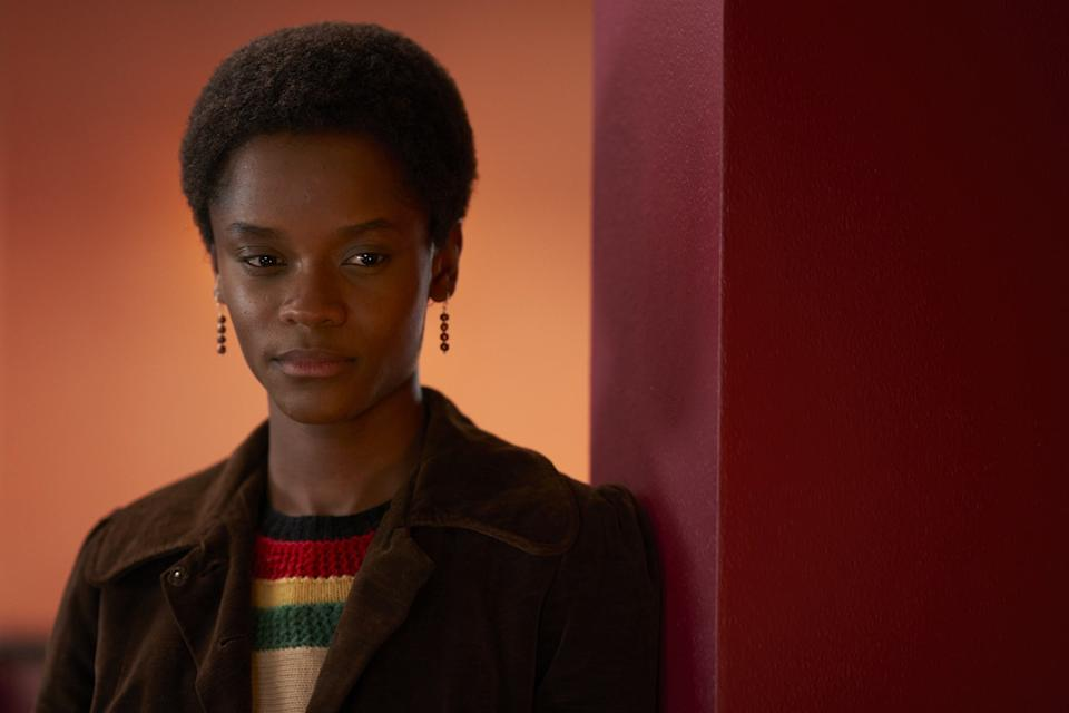 The phenomenal Letitia Wright plays Altheia Jones-LeCointe, a local Black PantherBBC/McQueen Limited/Des Willie
