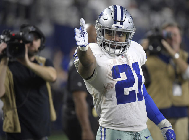 If Dallas are to win in Los Angeles, Ezekiel Elliott will have to have a big game