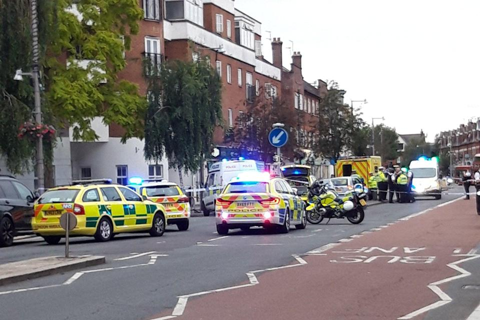 The escooter crash took place on Heath Road in Twickenham (Twitter)