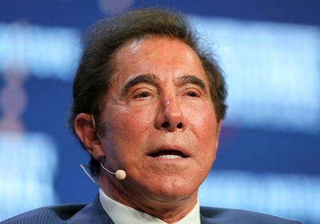 FILE PHOTO: Steve Wynn speaks during the Milken Institute Global Conference in Beverly Hills