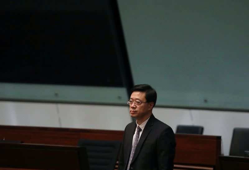 FILE PHOTO: Withdrawal of the extradition bill in Hong Kong