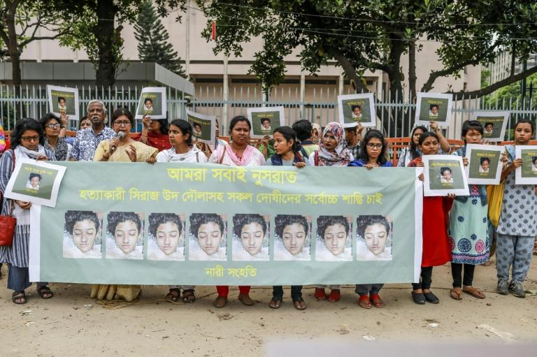 The case has caused outrage in Bangladesh, with the prime minister promising to prosecute all those involved