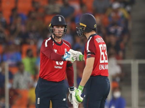 Jason Roy and Jos Buttler (Photo/ ICC Twitter)