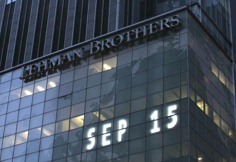 Key events for stocks, economy in financial crisis