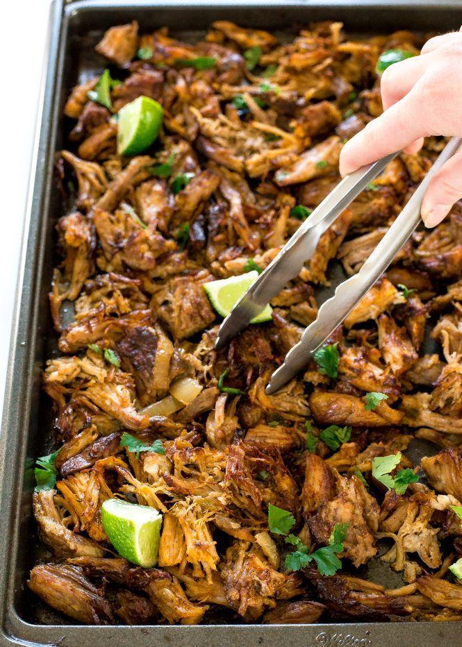 """<p>The easy way to make your favorite Chipotle order, keto-approved.</p><p>Get the recipe from <a href=""""https://chefsavvy.com/crispy-slow-cooker-pork-carnitas/"""" rel=""""nofollow noopener"""" target=""""_blank"""" data-ylk=""""slk:Chef Savvy"""" class=""""link rapid-noclick-resp"""">Chef Savvy</a>.</p>"""