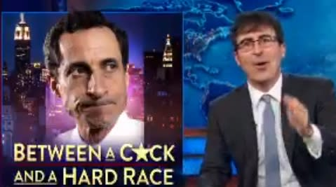 John Oliver on Anthony Weiner: 'A Sinking Poll' is the Least of his Problems (Video)