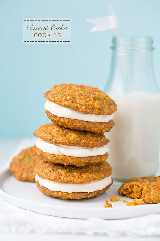 """<p>Whoopie Pies meet carrot cake in this Easter-inspired treat that's simply irresistible. </p><p><em><a href=""""https://www.cookingclassy.com/carrot-cake-cookies/"""" rel=""""nofollow noopener"""" target=""""_blank"""" data-ylk=""""slk:Get the recipe from Cooking Classy »"""" class=""""link rapid-noclick-resp"""">Get the recipe from Cooking Classy »</a></em></p><p><strong>RELATED: </strong><a href=""""https://www.goodhousekeeping.com/food-recipes/dessert/g850/easy-carrot-desserts/"""" rel=""""nofollow noopener"""" target=""""_blank"""" data-ylk=""""slk:25 Easy Carrot Desserts You've Got to Try This Easter"""" class=""""link rapid-noclick-resp"""">25 Easy Carrot Desserts You've Got to Try This Easter</a></p>"""