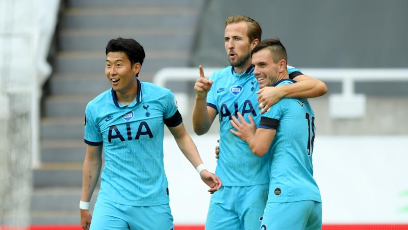 Newcastle United 1-3 Tottenham: Kane joins 200 club as Spurs go seventh