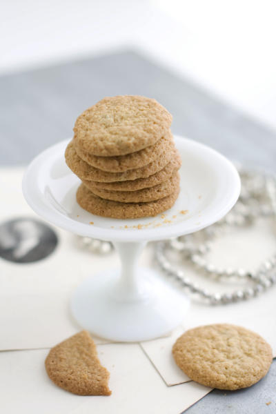 In this image taken on Monday, Nov. 5, 2012, fennel cornmeal wafers are shown in Concord, N.H. (AP Photo/Matthew Mead)