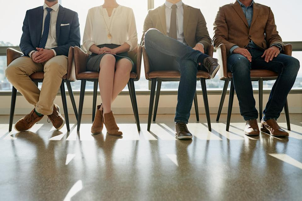Women are less likely to put themselves out there – but have higher chances of getting the job when they do. <em>(Photo: Getty)</em>