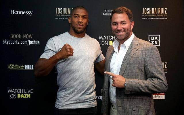 Eddie Hearn would be reluctant to postpone Joshua-Pulev again (Nick Potts/PA)