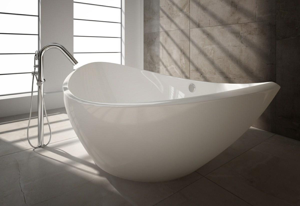 """Want the water in your bath tub to come directly out of the wall? Well, if you're not careful, changing the position of that faucet can be a disaster waiting to happen. If you don't put in a pressure balancing valve below the tub filling mechanism, """"you could be scalded with the water and it also won't pass inspection when you're through,"""" says <strong>Cristina Miguelez</strong>, a remodeling specialist at home renovation site <a href=""""https://www.fixr.com"""" target=""""_blank"""">Fixr</a>."""